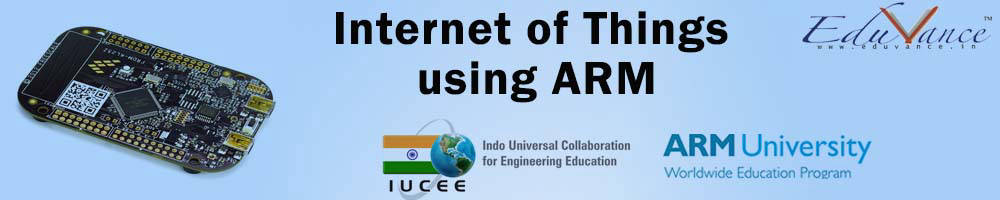 INTERNET OF THINGS USING ARM
